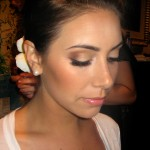 Makeup for Alexa's Wedding