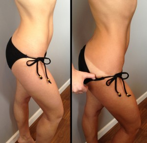 Before & After Airbrush Spray Tan